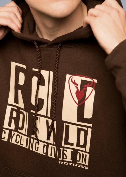 Rotwild Logo Hoodie brown