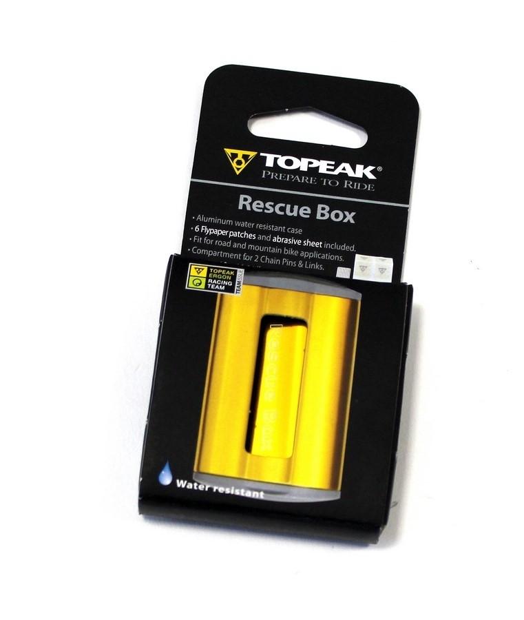 Topeak Rescue Box gold
