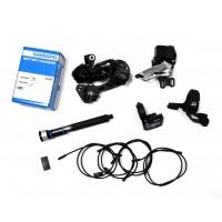 Shimano XT Di2 2x11-fach M8050 Upgrade Kit intern